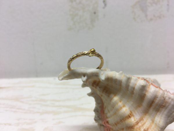 sonnenstrahl verlobungsring goldring