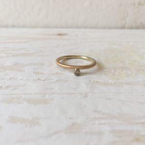 Verlobungsring Vorsteckring mit stein dana