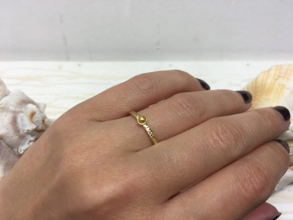sonnenring in gold verlobung