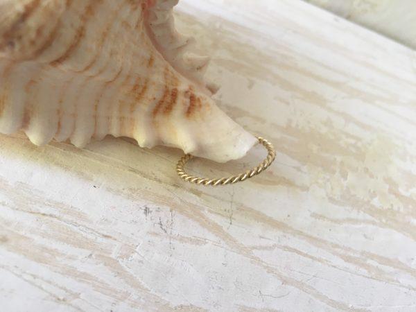 goldkordel als ring