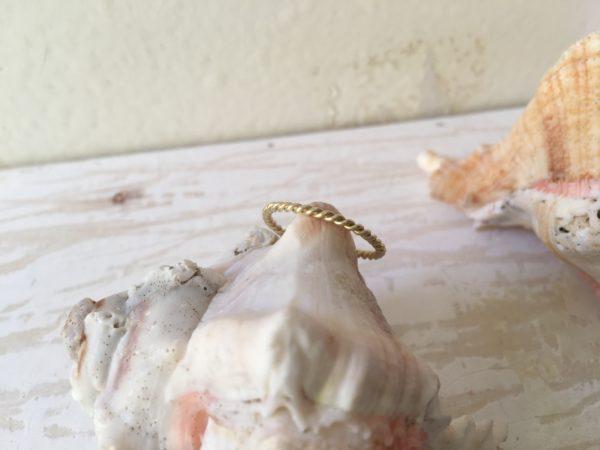 goldkordelring fein schmal verlobungsring