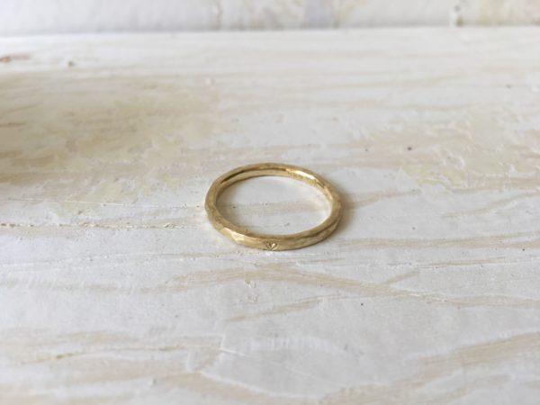 struktur ring geschlagene oberfläche matt