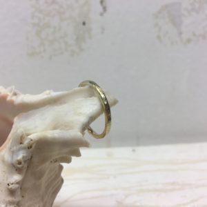 gemusterter verlobungsring vorsteckring gold