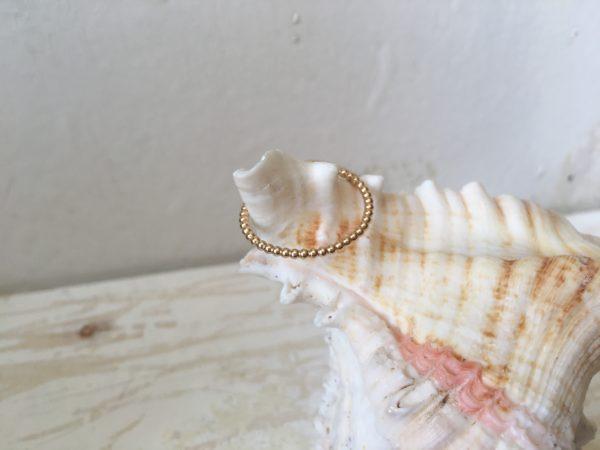 dünner zarter verlobungsring damenring rosegold