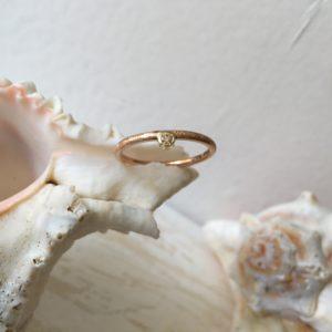 rotgoldgelbgold verlobungsrind rosa stein