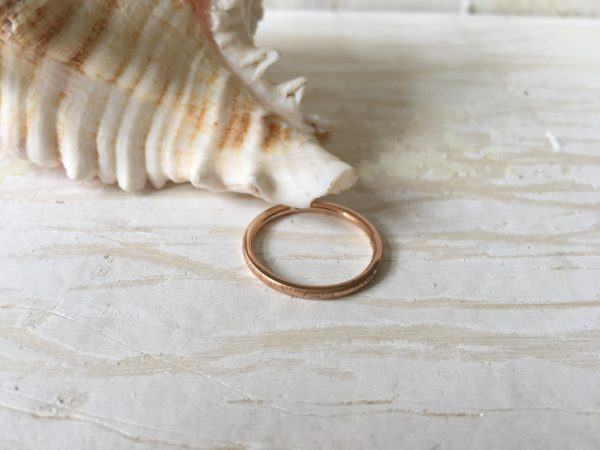 rotgold ring vintage verlobungsring