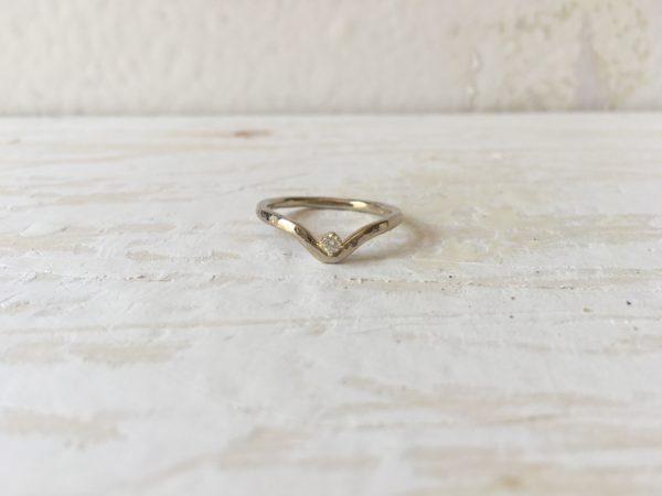 verschlungener verlobungsring helena weissgold